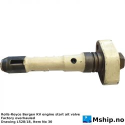 Rolls-Royce Bergen KV engine start air valve https://mship.no
