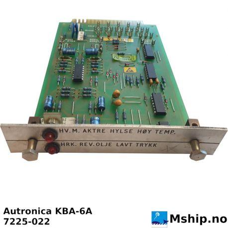 Autronica KBA-6A https:/mship.no