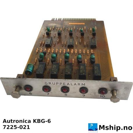 Autronica KBG-6 https://mship.no