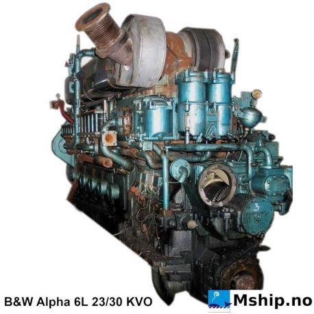 B&W Alpha 6L 23/30 KVO https://mship.no