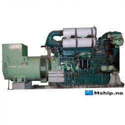 399 kVA Mecc Alte Spa generatorset with Volvo TD 120A engine