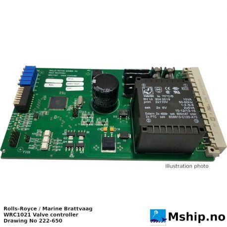 WRC1021 Valve controller https://mship.no