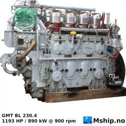GMT BL 230.4 - 1193 HP / 890 kW @ 900 rpm https://mship.no