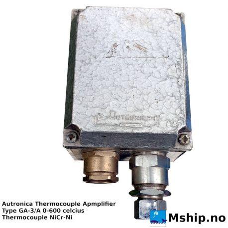 Autronica Thermocouple Apmplifier GA-3/A https://mship.no