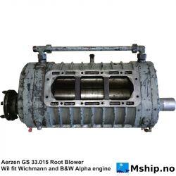 Aerzen GS 33.015 Root Blower - B&W Alpha https://mship.no