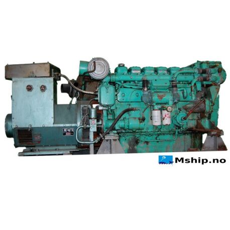 125 kVA Stamford generator set with Volvo Penta TMD100AK Diesel engine