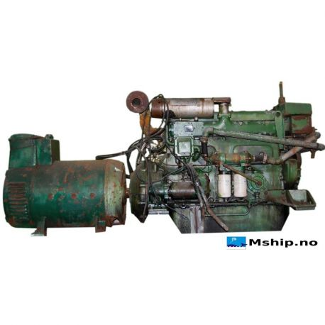 63 kWA DAE generatorset with Volvo MD70AK diesel engine