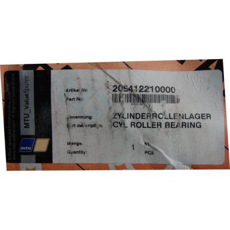MTU 205412210000 CYLINDRICAL ROLLER BEARING    mship.no
