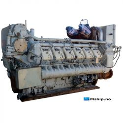 Deutz MWM TBD604 BV12 mship.no