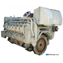 Deutz MWM TBD604 BV12 V12 mship.no