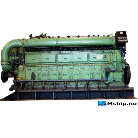 Bergen Diesel KRM8    https://mship.no/engines-equipment/188-bergen-diesel-krm8.html