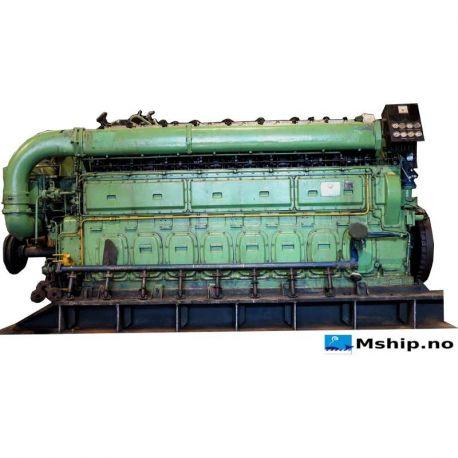 Bergen Diesel KRM 8 mship.no