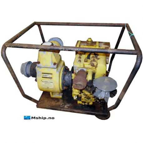 Atlas Copco 8 HP petrol bilge pump mship.no