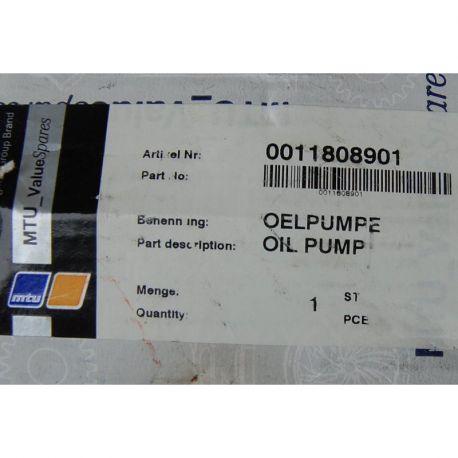 MTU 0011808901 GEARBOX OIL PUMP http://mship.no