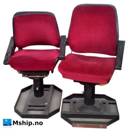 Marine chair, red mship.no