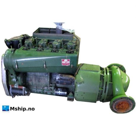 VM diese engine type 1054 with waterpump msahip.no