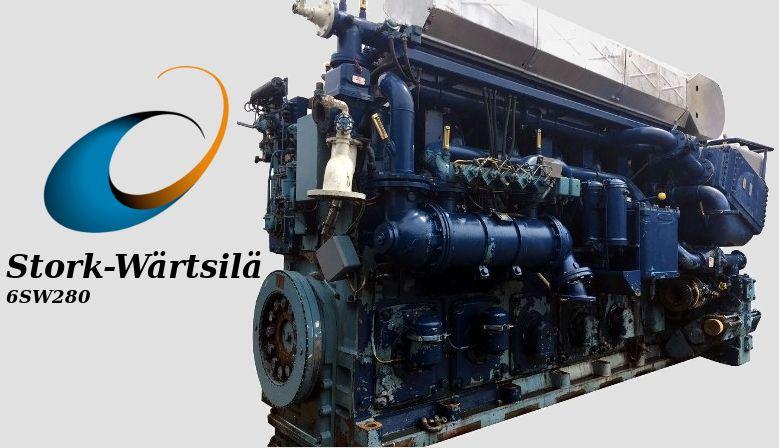 Stork Wärtsilä 6SW280 Diesel engine